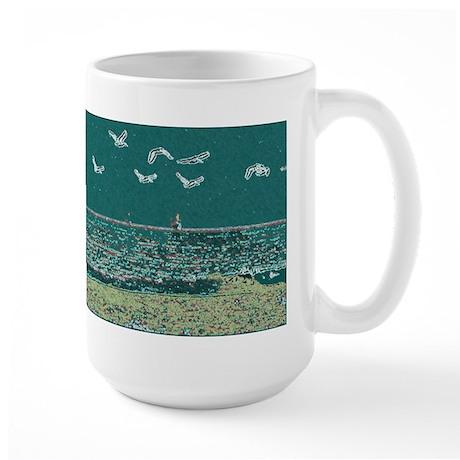 Seagulls Large Mug