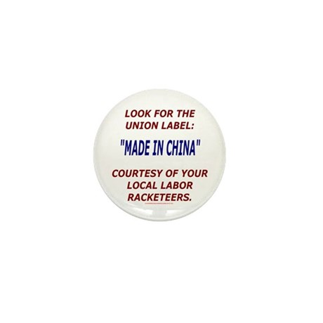 Look for the Union Label Mini Button (10 pack)