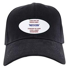 Look for the Union Label Baseball Hat