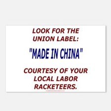 Look for the Union Label Postcards (Package of 8)