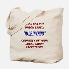 Look for the Union Label Tote Bag