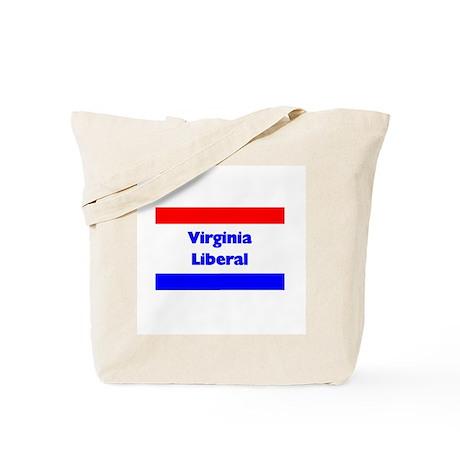 Virginia Liberal Tote Bag