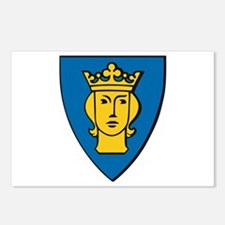 Stockholm Coat of Arms Postcards (Package of 8)