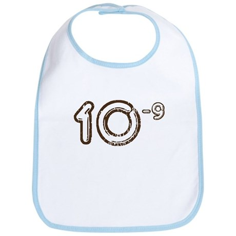 10 (-9 power, brown) Bib