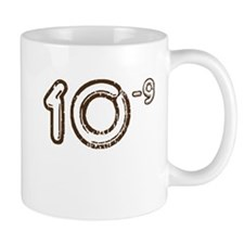 10 (-9 power, brown) Mug