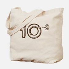 10 (-9 power, brown) Tote Bag