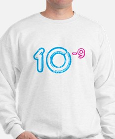 10 (-9 power, blue) Sweatshirt