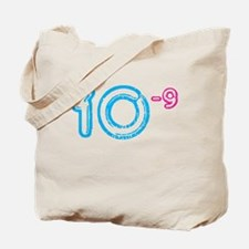 10 (-9 power, blue) Tote Bag