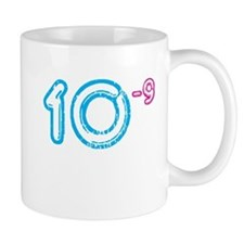 10 (-9 power, blue) Mug