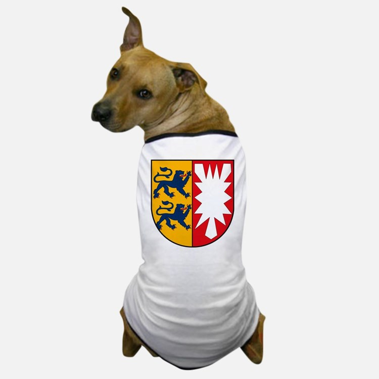 Schleswig Holstein Coat of Ar Dog T-Shirt