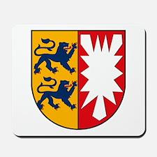Schleswig Holstein Coat of Ar Mousepad