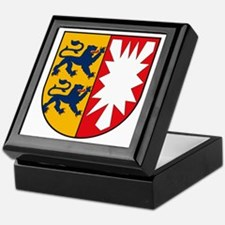 Schleswig Holstein Coat of Ar Keepsake Box