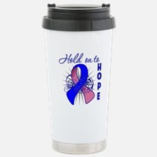 Male Breast Cancer Travel Mug