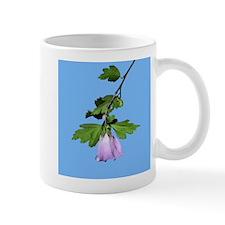 Rose of Sharon on Blue Small Mug