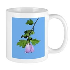 Rose of Sharon on Blue Small Mug