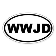 What Would Jesus Do (WWJD) Decal