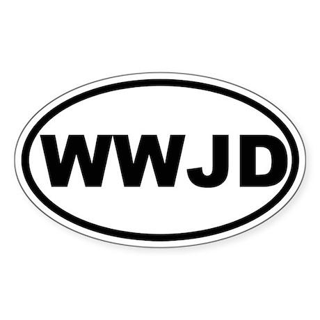 What Would Jesus Do (WWJD) Sticker