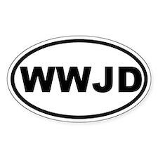 What Would Jesus Do (WWJD) Stickers