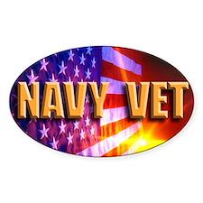 Navy Vet bur Decal