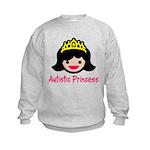 Autistic Princess Kids Sweatshirt