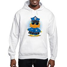 Police Duck Hoodie