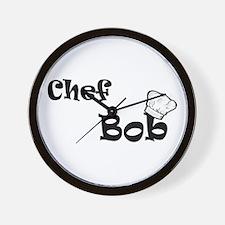 CHEF Bob Wall Clock