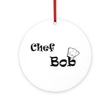 CHEF Bob Ornament (Round)
