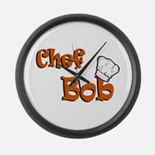CHEF Bob Large Wall Clock