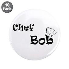 """CHEF Bob 3.5"""" Button (10 pack)"""