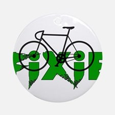 Fixie Ornament (Round)