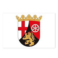 Rheinland Pfalz Coat of Arms Postcards (Package of