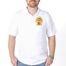 Peace Sign Duck T-Shirt