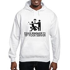 Tip Your Server Hoodie