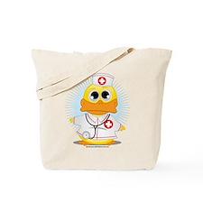 Nurse Duck Tote Bag