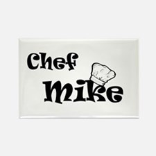 Chef Mike Rectangle Magnet