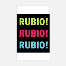 Rubio Rubio Rubio Sticker (Rectangle)