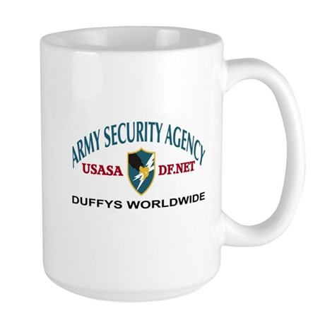 ASA Duffys Worldwide Large Coffee Mug