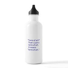 Term of Art 3 Water Bottle
