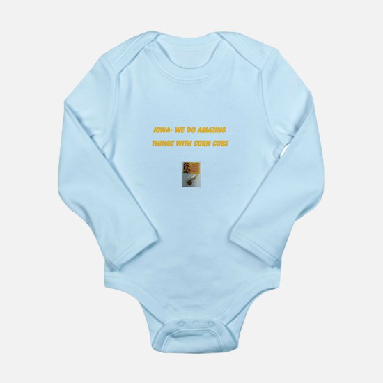 Unique We%27ll do things Long Sleeve Infant Bodysuit