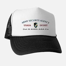 Det B 600th ASA Co Trucker Hat