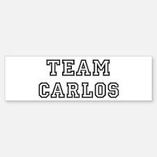 Team Carlos Bumper Bumper Bumper Sticker