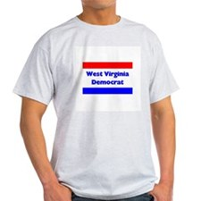 West Virginia Democrat Ash Grey T-Shirt
