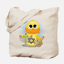 Hanukkah Duck Tote Bag