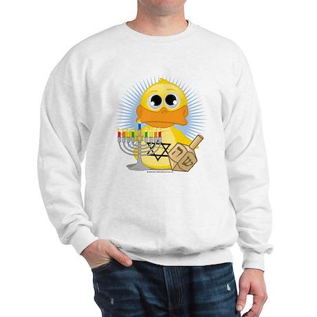 Hanukkah Duck Sweatshirt