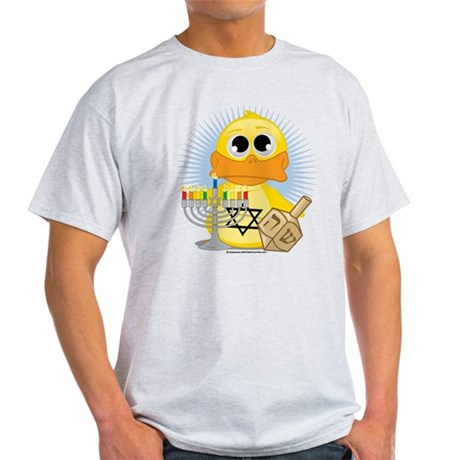 Hanukkah Duck Light T-Shirt