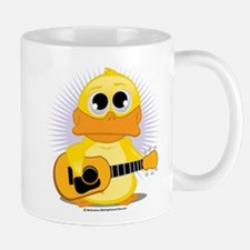 Acoustic Guitar Duck Mug