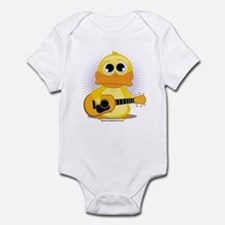 Acoustic Guitar Duck Infant Bodysuit