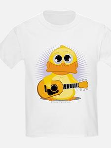 Acoustic Guitar Duck T-Shirt