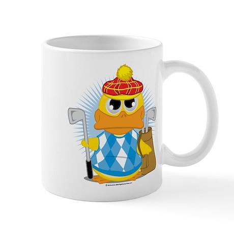 Golf Duck Mug