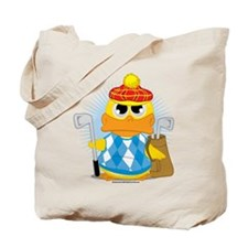 Golf Duck Tote Bag